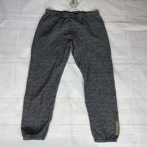 VS PINK Heathered Grey Jogger Pants M
